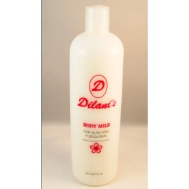 BODY MILK ALOE VERA-JALEA REAL 500 ml.
